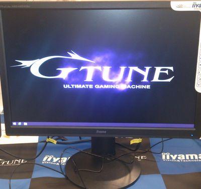 マウスコンピュターの方にG-TUNE推奨ゲームFF14について質問してきました