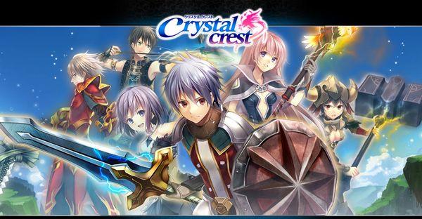 メイキング系MMORPG「クリスタルクレスト」クローズβに参加したので最速レビュー!