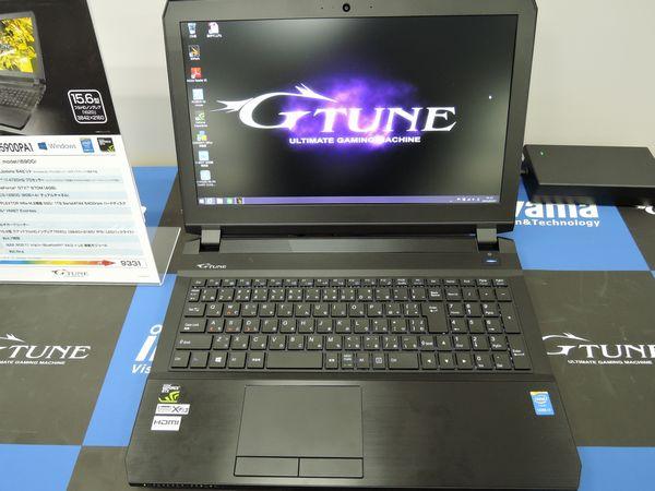 NEXTGEAR-NOTE i5900シリーズ展示会レビュー!GTX980Mと4K液晶が魅力的!