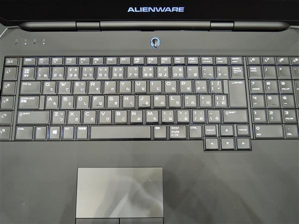 ALIENWARE17 キーボード