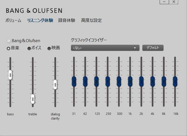BANG & OLUFSEN のサウンドテクノロジー