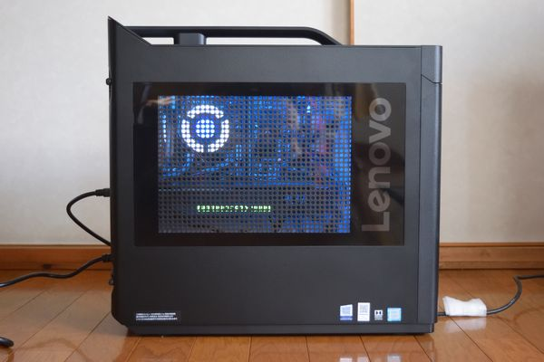 RTX2080搭載Lenovo Legion T730レビュー[感想・評価]